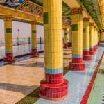 Mandalay hill pathway detail — Stock Photo