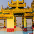Sagaing hill temple detail — Stock Photo