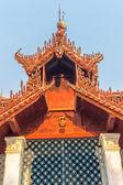 Mingun temple - roof decorations — Foto Stock
