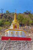 Pagoda at Pindaya caves entrance — Stock Photo
