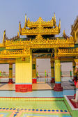 Sagaing hill temple detail — ストック写真