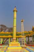 Votive column, Sagaing hill — Stock Photo