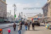 Rivoluzione euromaidan a kiev — Foto Stock