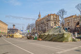 Euromaidan revolution in Kiev — Stock fotografie