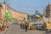 Euromaidan revolution in Kiev — 图库照片