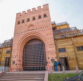 Golden gate in Kiev, Ukraine — Stock Photo