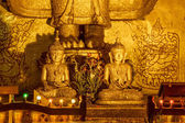 Ananda Temple Buddha statues — Stock Photo