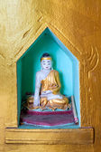 Small votive Buddha — Stock Photo