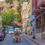 Istanbul old street traffic — Stock Photo