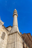 Minaret of the New Mosque (Yeni Cami) — Stock Photo