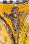 Plafond engel in hagia sophia istanbul — Stockfoto