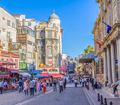 Istanbul old center city life — Stock Photo