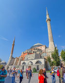 Hagia Sophia, Istanbul attraction — Stock Photo