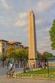 Obelisk of Theodosius, Istanbul — Stock Photo