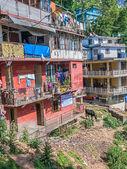 Dharamsala residential buildings — Stock Photo