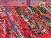 Handmade jewelry in India — Stock Photo