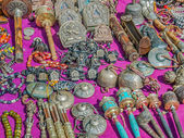 Street market in Dharamsala, India — Stock Photo