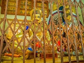 Caging preserves precious Buddhist relics — Stock Photo
