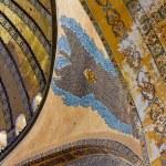 Painted ceiling in Hagia Sophia Istanbul — Stock Photo #45749851