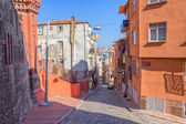 Istanbul old street - Phanar district — Stock Photo