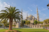 Azul mezquita estambul — Foto de Stock