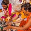 Hindu religious ritual Puja — Stock Photo #45948919