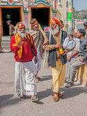 People in Rishikesh — Stock Photo