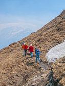 Trekking in Himalaya — Stock Photo