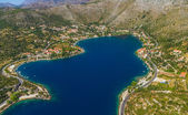 Zaton lagoon near Dubrovnik — Stock Photo