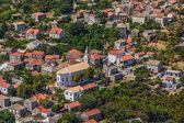Adriatic landscape at Peljesac peninsula — Stock Photo