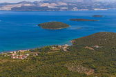 Adriatic landscape - Peljesac peninsula in Croatia — Stock Photo