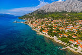 Orebic town in Croatia — Stock Photo