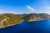 Adriatic landscape, Peljesac peninsula in Croatia — Stock Photo
