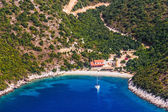 Adriatic landscape, Peljesac peninsula in Croatia — Stock Photo