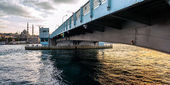 Galata Bridge Istanbul — Stock Photo