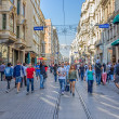 Istiklal Avenue in Istanbul — Stock Photo #46772761