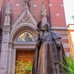 Statue Pope John XXIII in Istanbul — Stock Photo #46772847