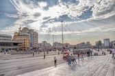 Taksim Square in Istanbul — Stock Photo