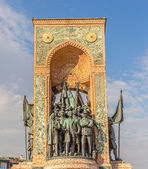 Republic monument in Istanbul — Stock Photo