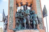 Republik-Denkmal in istanbul — Stockfoto