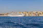 Cruise ship Columbus 2 in Istanbul — Stock Photo