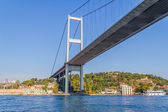 First Bosphorus bridge — Stock Photo