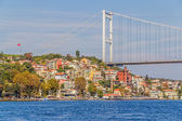 Fatih Sultan Mehmet Bridge — Stock Photo