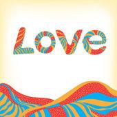 Love — Vector de stock