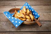 Patatas fritas. — Foto de Stock