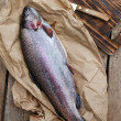 Rainbow trout (Oncorhynchus mykiss) — Stock Photo #27113585