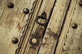 Lock on a door — Foto Stock
