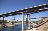 Most ve výstavbě — Stock fotografie
