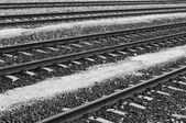 Ferrocarriles — Foto de Stock