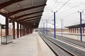 Railway station — Stock Photo